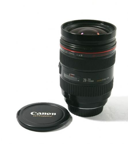 CANON 28-70MM F2.8L LENS NO BOX